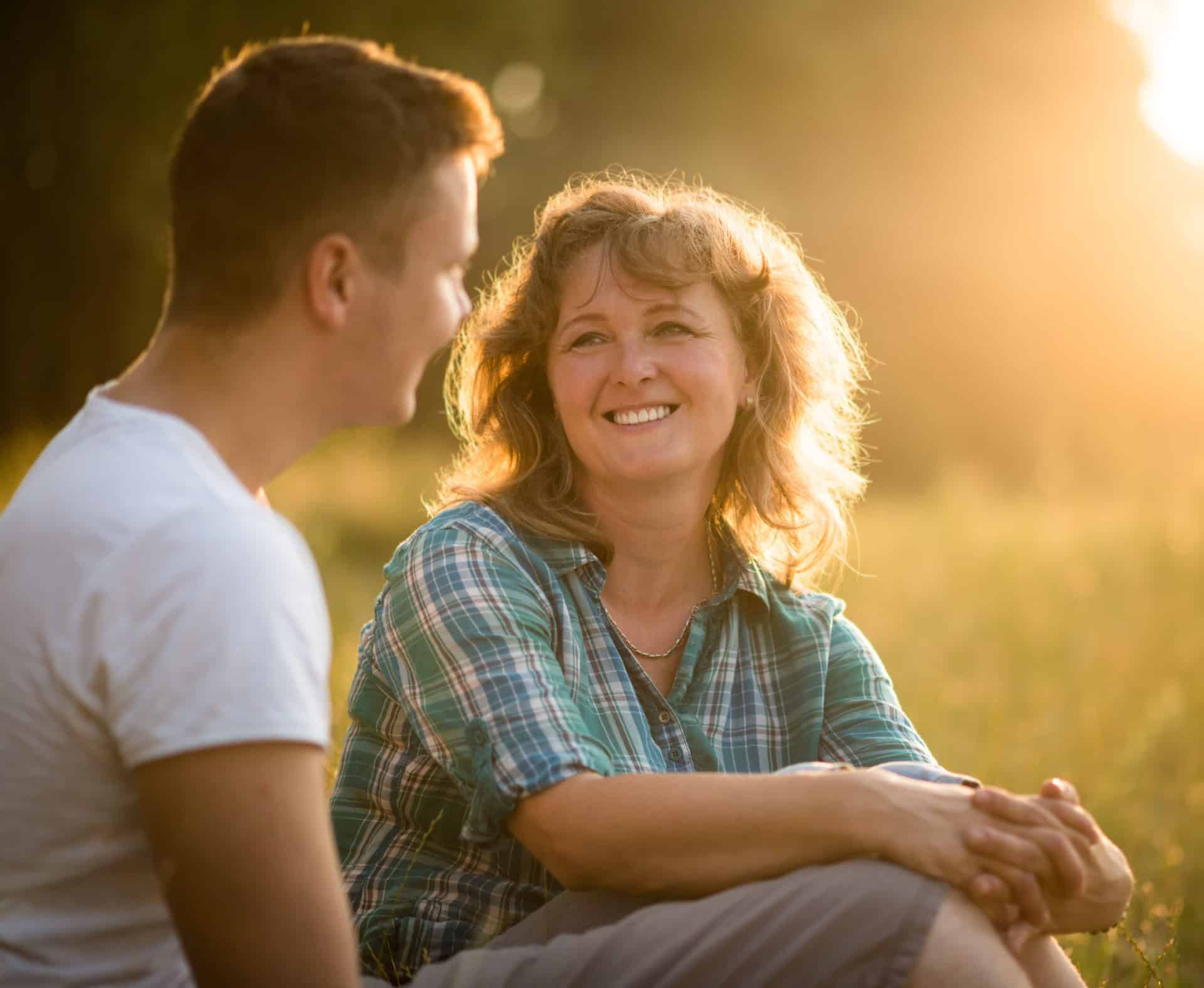 Mom and Son Shutterstock